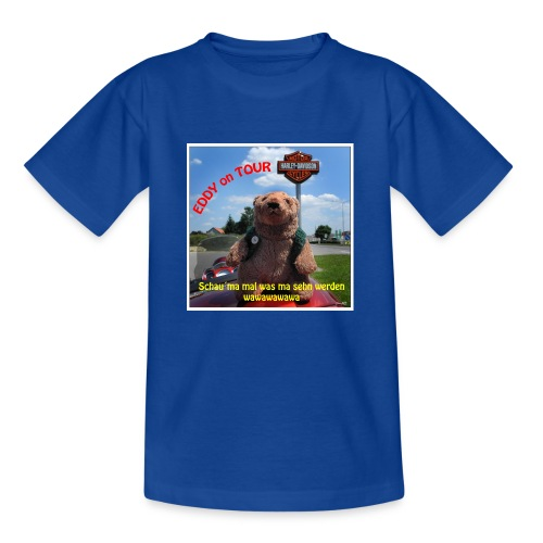 EDDY on the Road - Kinder T-Shirt