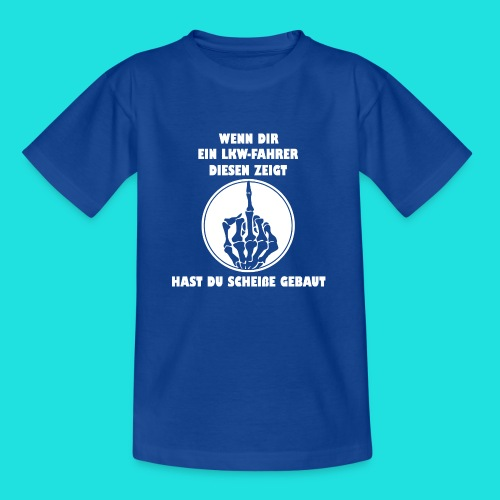 LKW-Fahrer - Kinder T-Shirt