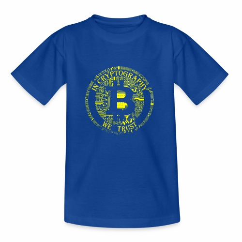 In cryptography we trust 2 - Kids' T-Shirt