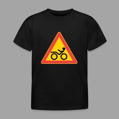 Traffic sign Recumbent - Lasten t-paita