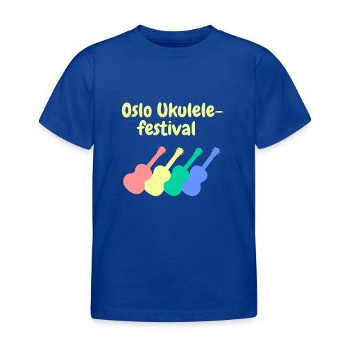 Fire ukuleler - T-skjorte for barn