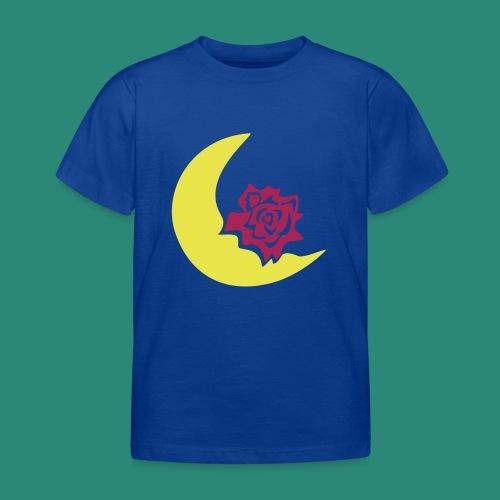 Mondblume svg - Kinder T-Shirt