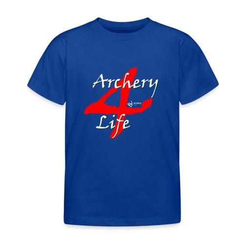 Archery4Life white - Kinder T-Shirt