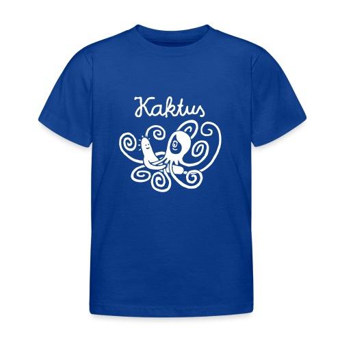 Kaktus und Kalamarie - Kinder T-Shirt