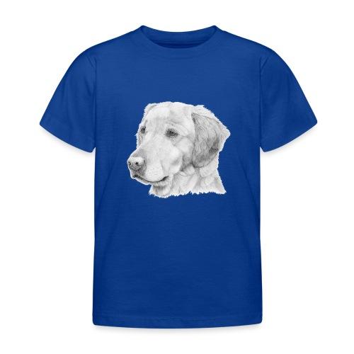 Golden retriever 2 - Børne-T-shirt