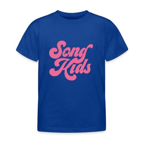 SongKids logo pink png - Kids' T-Shirt