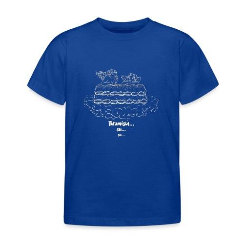 Tiramisù - tinte scure - Maglietta per bambini