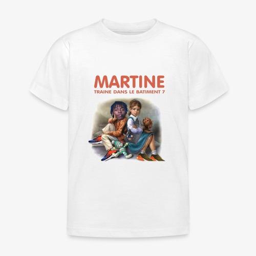 Martine-bat7 - T-shirt Enfant