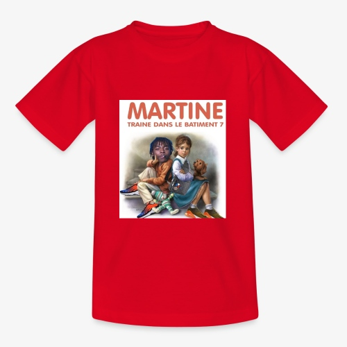 Martine-bat7 - T-shirt Enfant