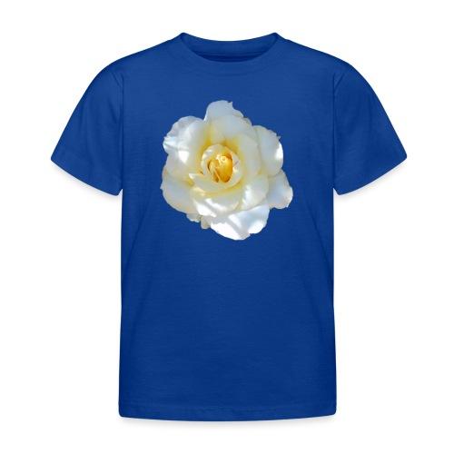 A white rose - Kids' T-Shirt