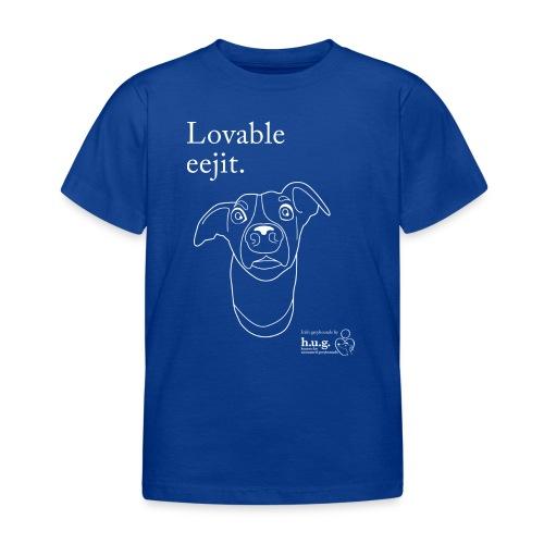 Lovable eejit - Kids' T-Shirt