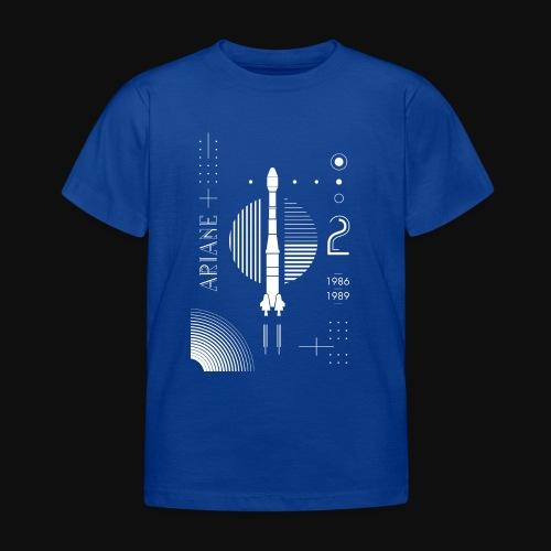 ARIANE 2 - White Patern - Kids' T-Shirt
