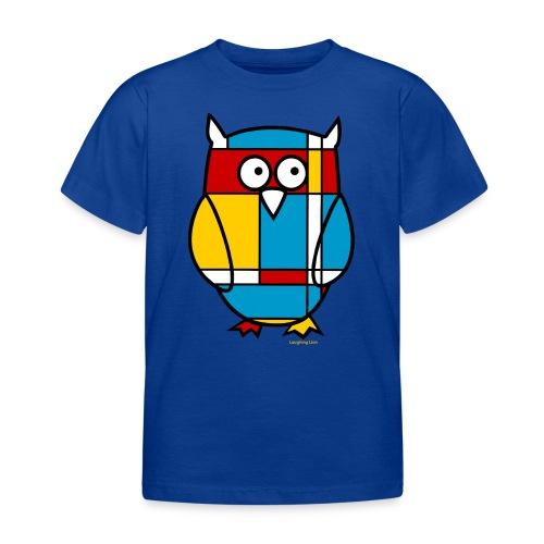 Mondrian Owl - Kids' T-Shirt