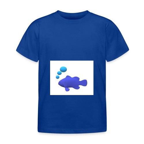 Silhouette Pesce - Maglietta per bambini