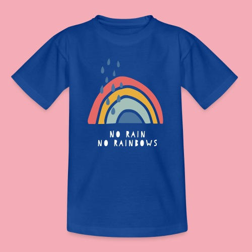 No Rain no Rainbows - Kinder T-Shirt