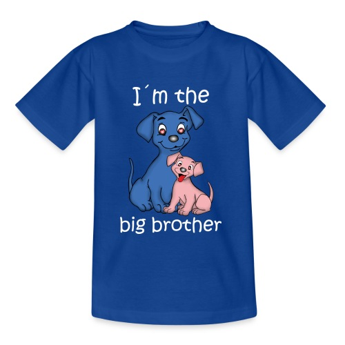 I m the Big Brother puppy - Kids' T-Shirt