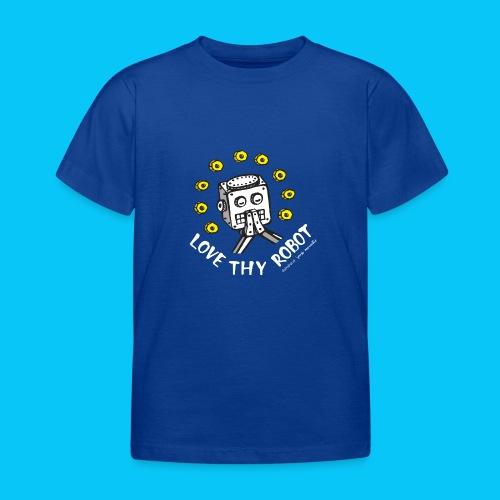Dat Robot: Love Thy Robot Series Dark - Kinderen T-shirt
