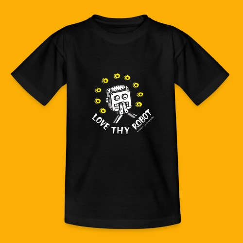 Dat Robot: Love Thy Robot Series Dark - Kinderen T-shirt