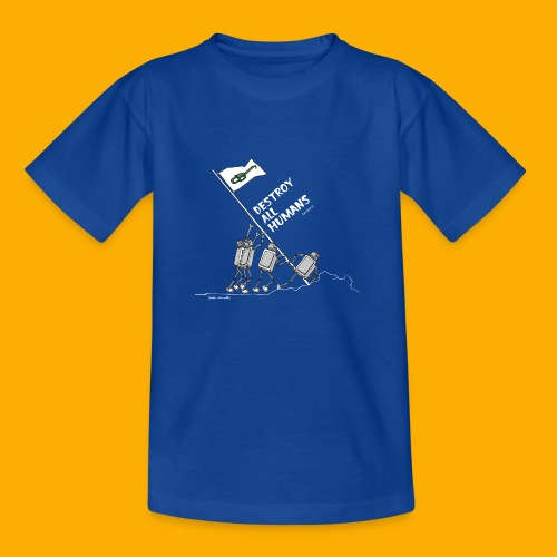 Dat Robot: Destroy War Dark - Kinderen T-shirt