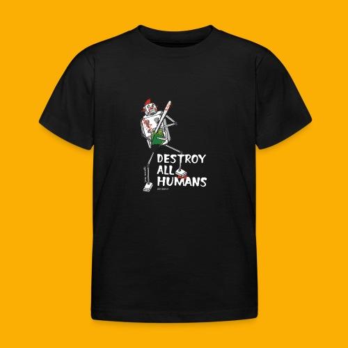 Dat Robot: Destroy Series Killer Clown Dark - Kinderen T-shirt