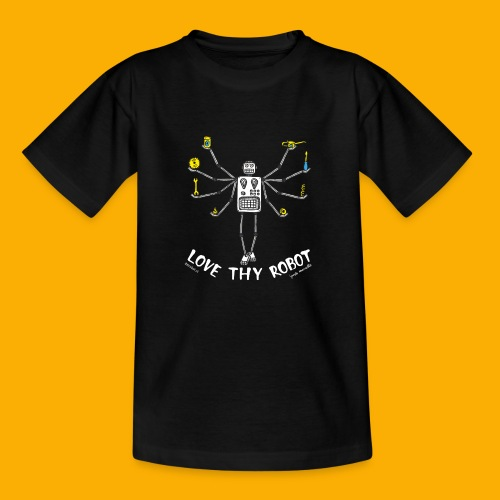Dat Robot: Love Thy Robot Shiva Dark - Kinderen T-shirt
