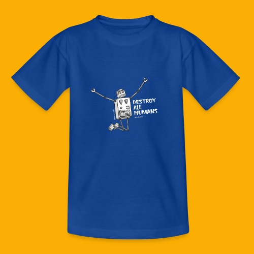 Dat Robot: Happy To Destroy Dark - Kinderen T-shirt