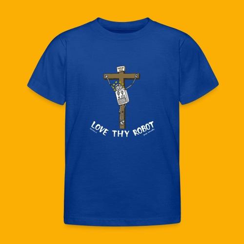 Dat Robot: Love Thy Robot Jesus Dark - Kinderen T-shirt