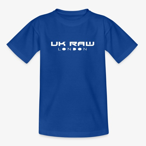 UK Raw London White Logo - Kids' T-Shirt