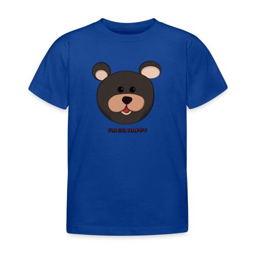 Osito feliz - Camiseta niño