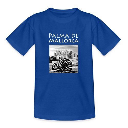 Palma de Mallorca mit Cathedrale Heiligen Maria - Kinder T-Shirt
