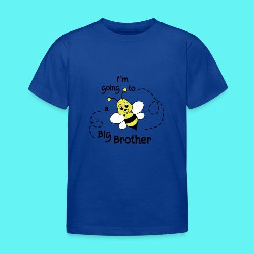 Grote broer, bij, bekend making zwanger - Kinderen T-shirt