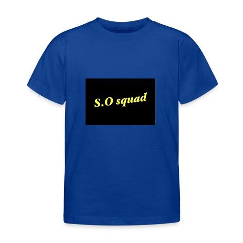 S.O squad - T-shirt Enfant