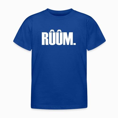RÛÛM - Lekker Zeeuws - Kinderen T-shirt