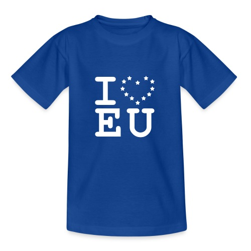 i love EU European Union Brexit - Kids' T-Shirt