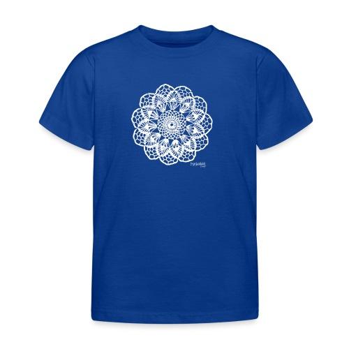 Granny´s Flower, valkoinen - Lasten t-paita