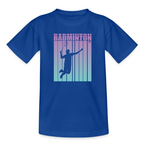 Badminton Jump Smash - Kids' T-Shirt