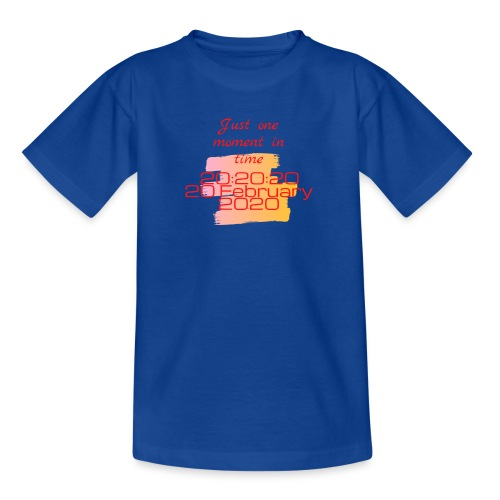 One moment in time - Kinderen T-shirt