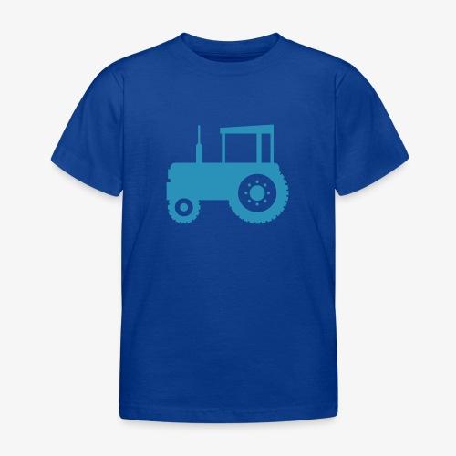 tractor silouette - Kinderen T-shirt