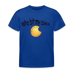 Bitcoin bite - Kinderen T-shirt
