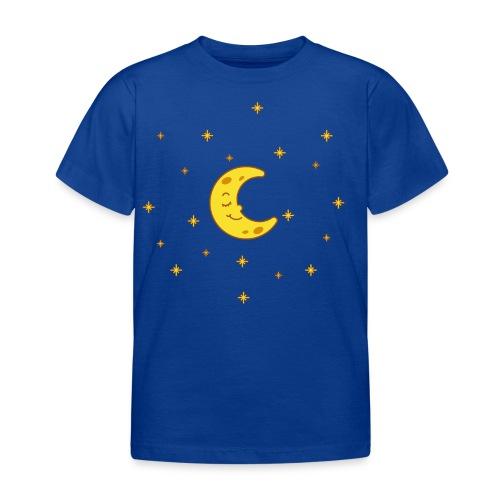 Mond und Sterne - Kinder T-Shirt