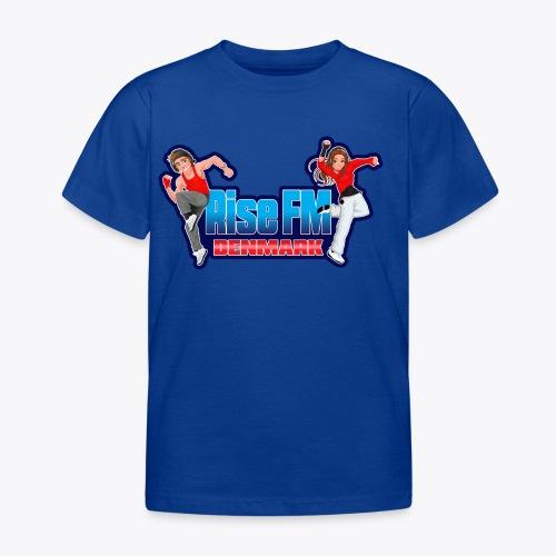 Rise FM Denmark Full Logo - Børne-T-shirt