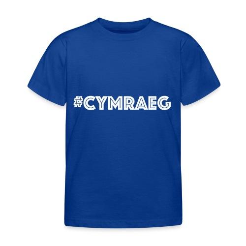 cymraeg - Kids' T-Shirt