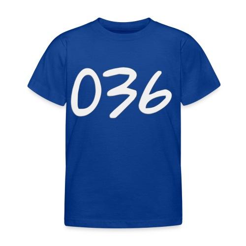 036 - Kinderen T-shirt