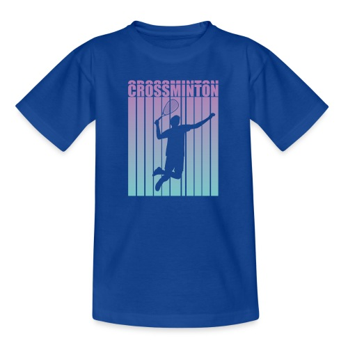 Crossminton - Speed badminton - Kids' T-Shirt