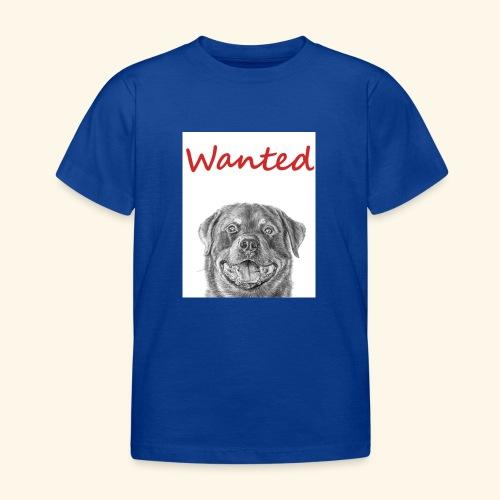 WANTED Rottweiler - Kids' T-Shirt
