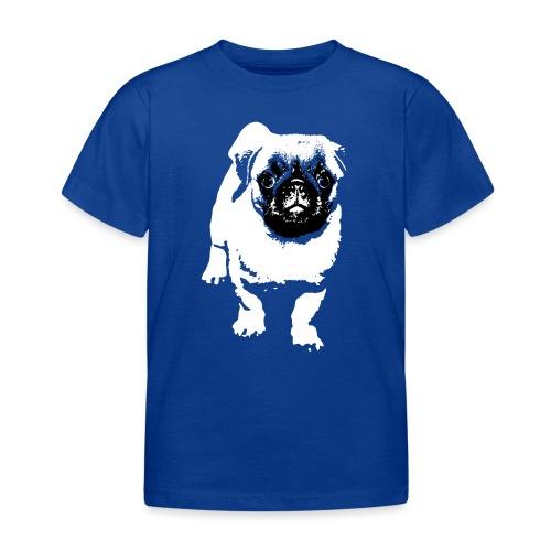 Mops Hund Hunde Möpse Geschenk - Kinder T-Shirt