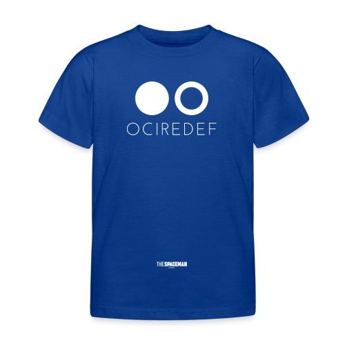OCIREDEF Official White - Maglietta per bambini