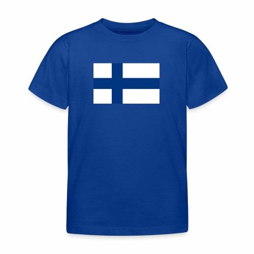 Suomenlippu - tuoteperhe - Lasten t-paita