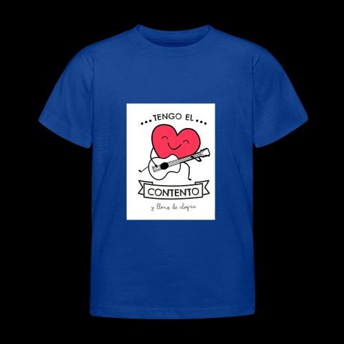 Tengo el corazón contento - Camiseta niño