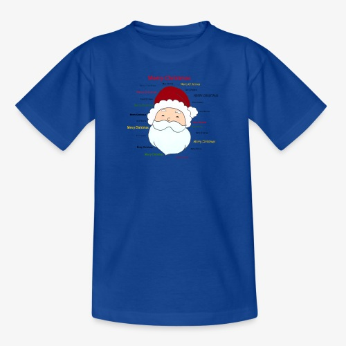 pere noel Merry x mas - Kids' T-Shirt